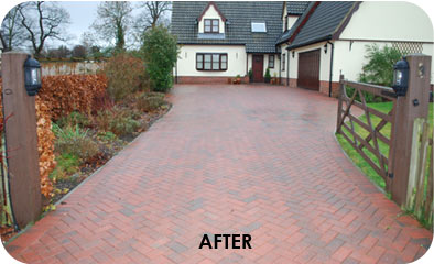 Brick weave paving driveway specialists